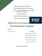 Diseño de un Curso Virtual