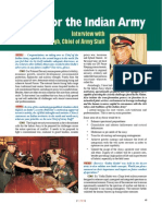 indian army cheif interview