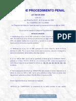 código de procedimiento penal colombia