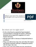 Northgate Budget Direction