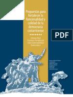 Informe final. Comisión Presidencial sobre Gobernabilidad Democrática.
