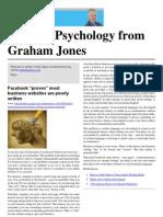 Internet Psychology from Graham Jones