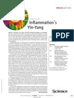 Inflammation's Yin - Yang (Science Mag)