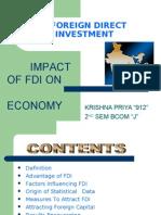 the impact of fdi in india