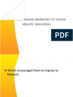 How The Indians Migrated to Tanah Melayu