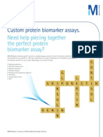 Custom protein biomarker assays