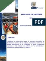 Trabajos en Caliente 2011