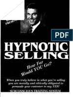 Hypnotic Selling Manual