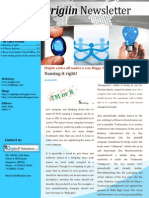 Origiin Newsletter
