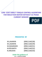 low cost direct torque control of induction motor without ac phase current sensors