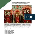 jaganatha pratisthah patrika
