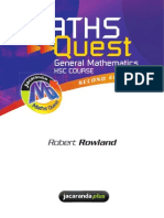 HSC General Mathematics Text Book