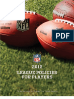 NFL Player Policies