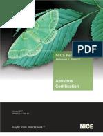 Antivirus Certification