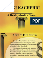 reality show ppt
