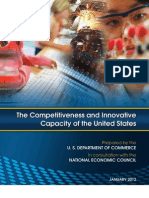 The  Competitiveness  and  Innovative Capacity  of  the  United   States