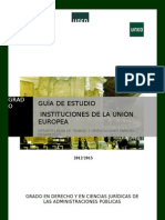 Guia instituciones union europea
