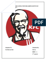 synopsis for study on kfc