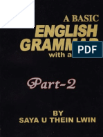 A Basic English Grammar With Answers- (Part Two)