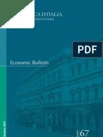 Banca Ditalia Economic Bulletin Jan 2013