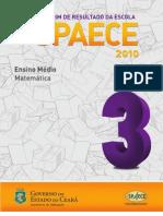 Boletim SPAECE matemática 2010