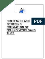 Ship Resistance Calculation