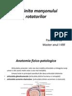 Tendinita mansonului rotatorilo