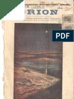 Revista de astronomie Orion, septembrie 1908