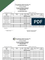 IVF Monitoring Sheet