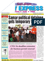 Samar political detainee 