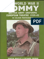 The World War II Tommy-British Army Uniforms European Theater 1939-1945
