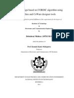 ASIP design based on CORDIC algorithm using Xilinx and CoWare designer tools