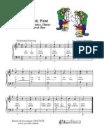 Easy piano level 1