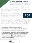 client server project