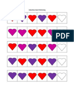 Valentine's Day Patterning for Preschool