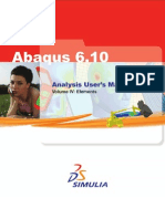Abaqus user manual