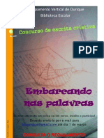 Cartaz concurso de escrita criativa