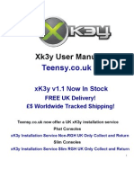 xK3y xKey x360Key xKey 360 Installation and user Manual for Fat / Phat Slim / RGH Xbox 360 Consoles