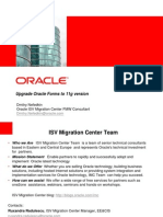 Upgrade Oracle Forms to 11g version