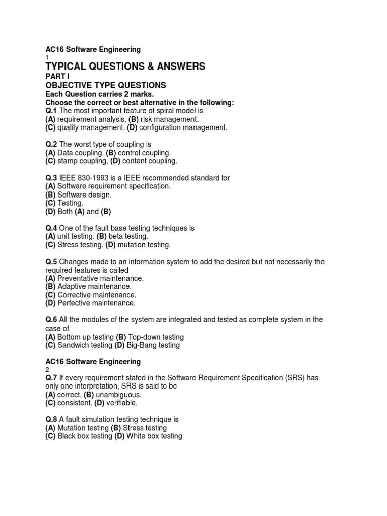 Soft Software Testing C Programming Language