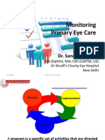 Monitoring in Primary Eye Care