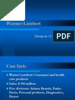 Warner lambert