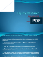 Equity Research on FMCG sector