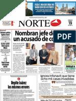 Periodico Norte de Ciudad Juárez 19 de Enero de 2013