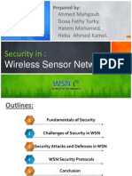 WSN Secuirty