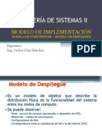 Sesión 17.-Modelo de Implementación_Modelo de Componentes - Modelo de Despliegue