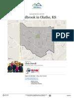 Woodbrook Neighborhood Real Estate Report
