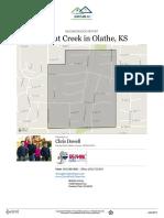 Walnut Creek Subdivision Neighborhood Real Estate Report
