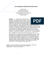 Ronald Bryan - Consciousness and Quantum-Mechanical Wavefunctions (29 Pgs)