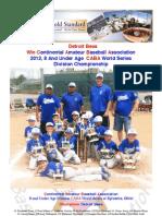 World Series Recap - 2012 - 08U